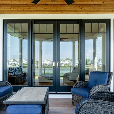 a series gliding patio door