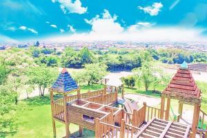 阿波町の魅力スポット-そよ風公園