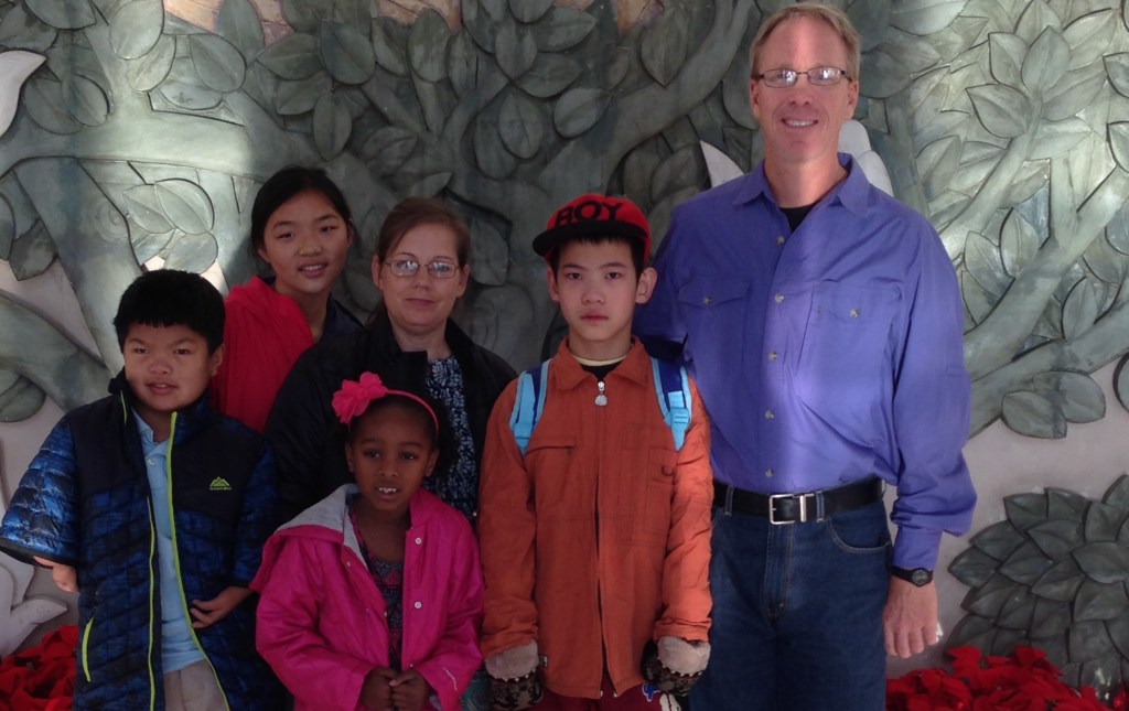 The Smith family is in China Right Now!