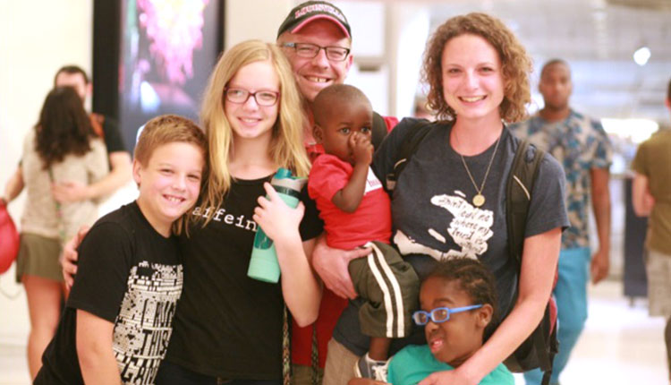 Welcome Home From Haiti, Vanderpool Family!