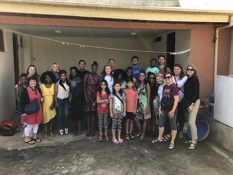 America World missions team in Ethiopia