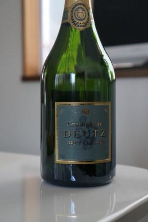 Champagne 001 ドゥーツ・ブリュット・クラシック(Deutz Brut Classic)