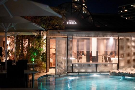 青山 絶景レストラン 「Ristorante Stella」