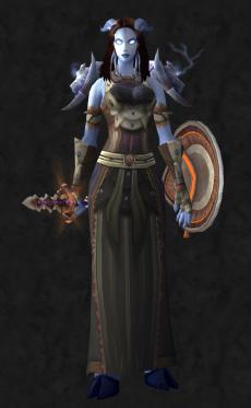 Front - Female Draenei Shaman