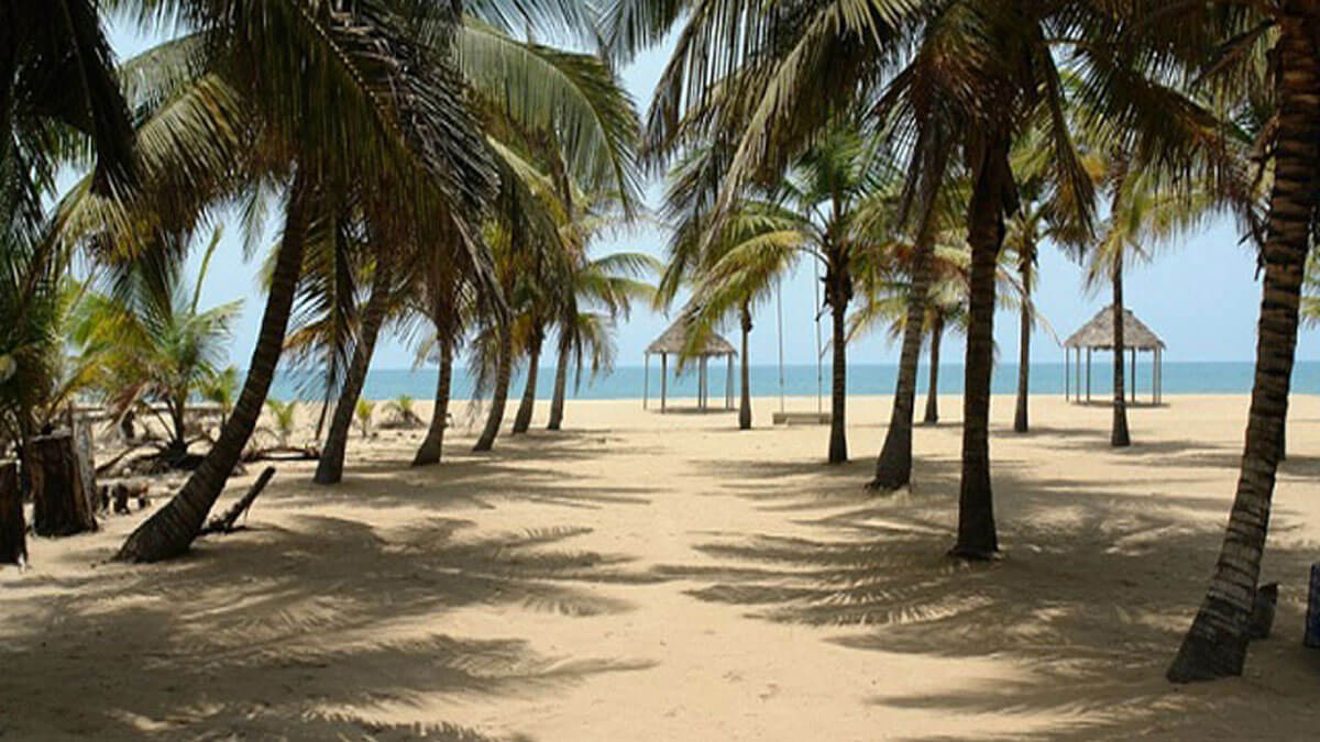 coconut beach, lagos
