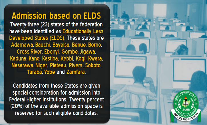 admission on elds