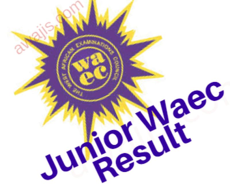 Junior Waec Result online