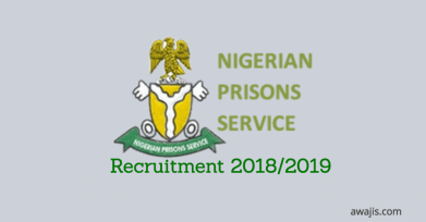 Apply Now for the Position of Superintendent of Prisons At Nigeria Prisons