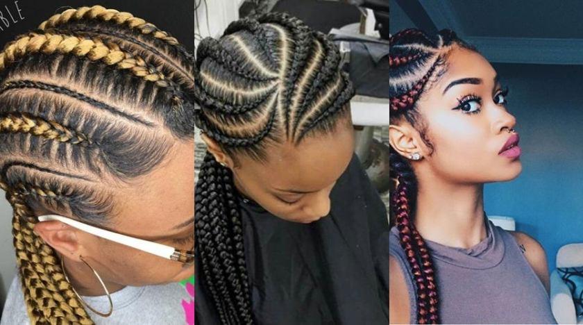 Trending Ghana Braid Styles