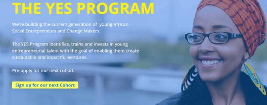 Youth Entrepreneurship Support (YES) Program