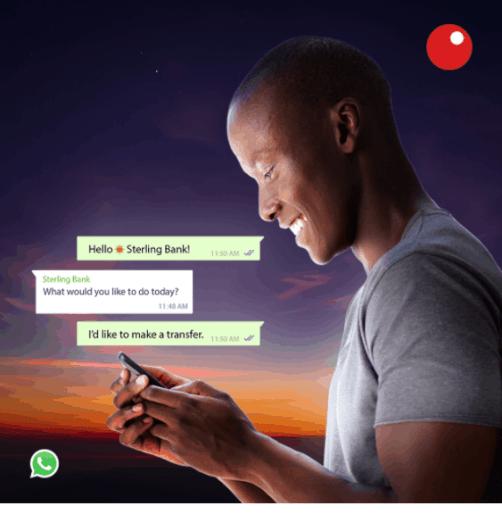 Sterling Bank WhatsApp Banking