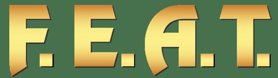 FEAT logo wht