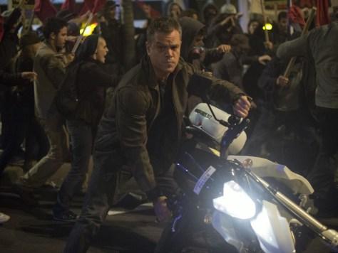 Matt Damon in Jason Bourne