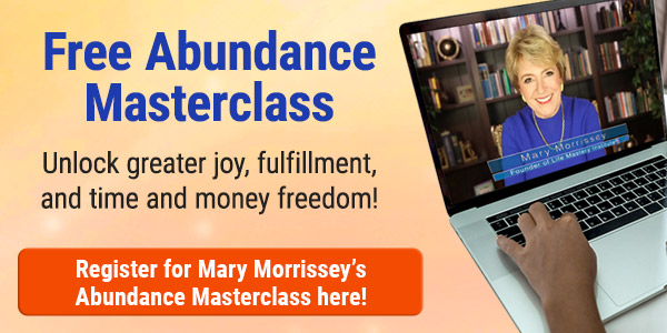Free Abundance Masterclass for attracting greater abundance into your life.