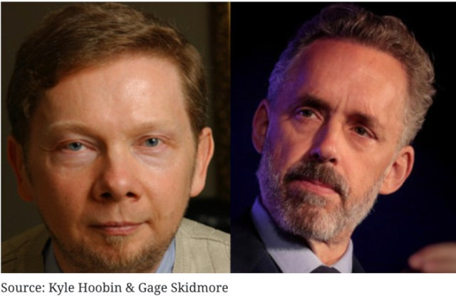 Jordan Peterson & Eckhart Tolle: Contrasting Two Top Teachers of Our Time
