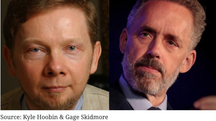 Jordan Peterson and Eckhart Tolle: Contrasting Two Top Teachers of Our Time