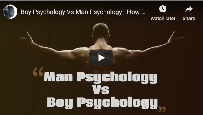Watch: Boy Psychology Vs Man Psychology