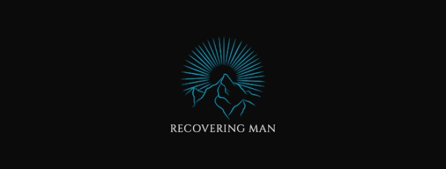 Recovering Man logo long
