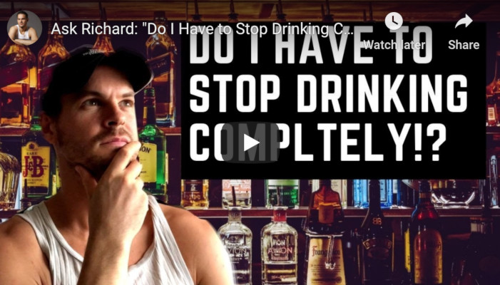 "Ask Richard: ""Do I Have to Stop Drinking Completely?"""