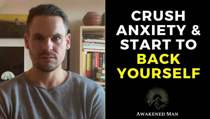 Crush Anxiety | How to Start Backing Yourself in 4 Steps