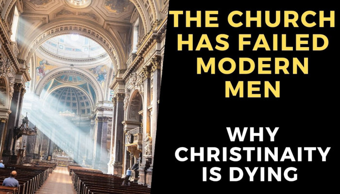 why is christianity failing in the west