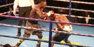 Bastie Samir fights Bukom Banku