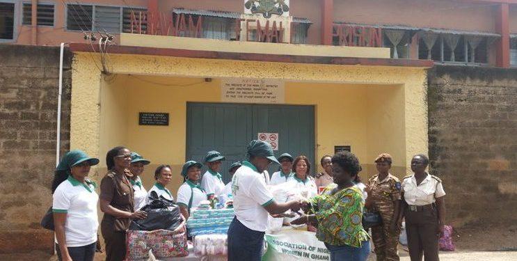 Association of Nigerian Women in Ghana donates to Nsawam Prison inmates