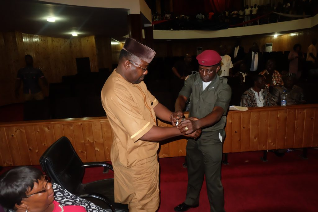 Liberia: Deputy Minister Fahngon Goes To Jail, Declared Non-Governmental Material