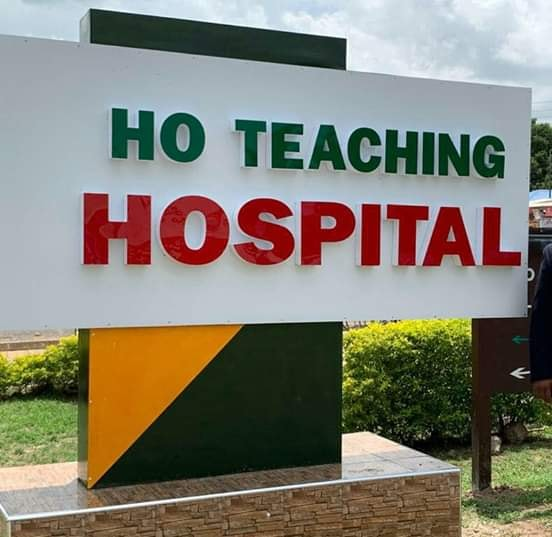 29yrs old man; 10 others 'discharged but in', at the Ho Teaching Hospital for non-payment