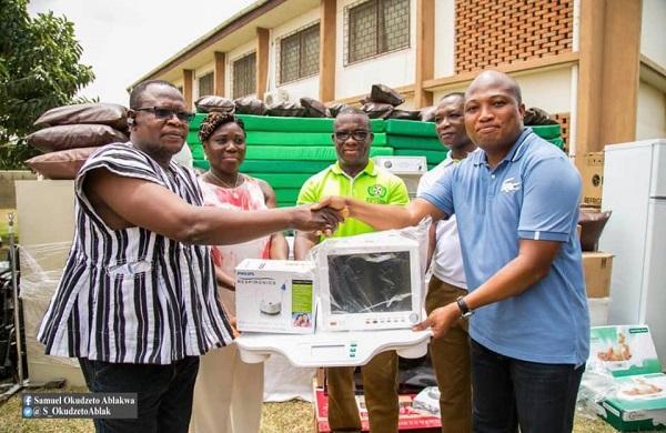Ablakwa spends over GHC200,000 on medical equipment for Battor Catholic Hospital