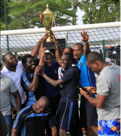 Accra Priests win Catholic Professionals football trophy