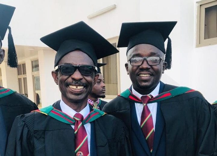 PHOTO: Gen. Mosquito bags Master of Science in Defence & International Politics