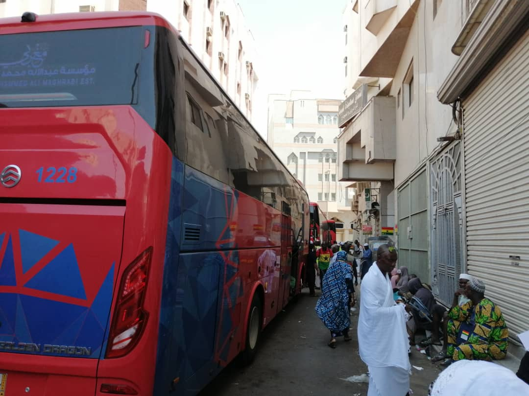 Ghana Hajj 2019: Third Batch Of Accra Pilgrims Leaves For Mecca