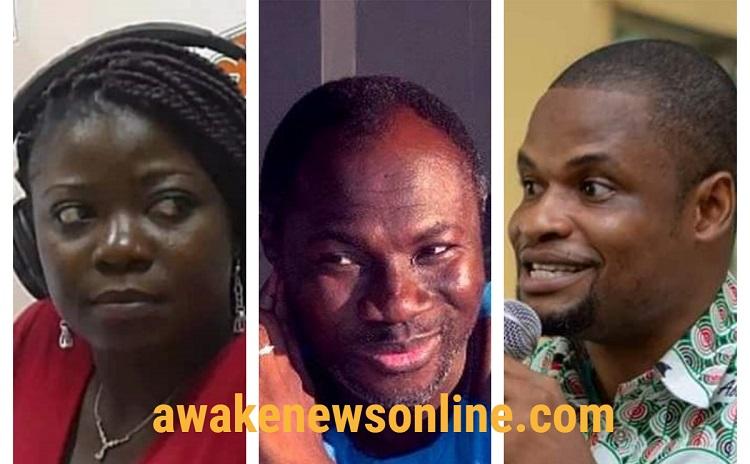 You're hypocrite, disgrace to journalism – Efo Worlanyo fires Vim Lady over Badu Kobi demo