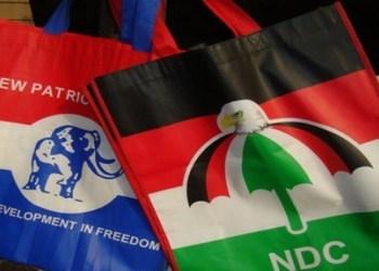 NDC and NPP logo