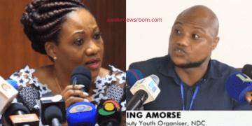 Amose Blessing Amorse and Jean Mensa