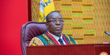 Speaker of Parliament Alban Bagbin