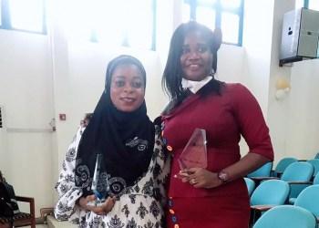 Sarata Samira Adamu and Mavis Gyekye-Mensah