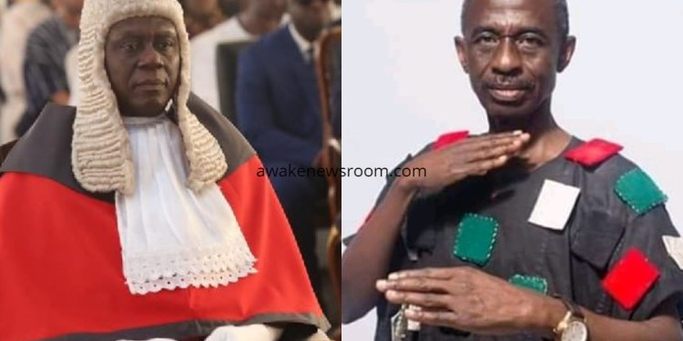Justice Anim Yeboah and Asiedu Nketia