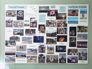 Vision Board, Easy Vision Board, Vision Board in 7 Steps, Happiness, Awaken Happiness