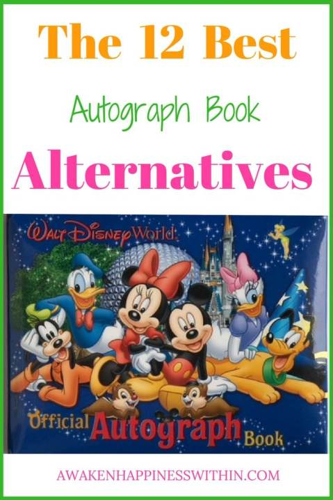 make your own Disney autograph book, custom Disney autograph book, ideas for Disney autograph book, alternatives to Disney autograph books, alternatives to autograph books, Alternative Ideas to an Autograph Book
