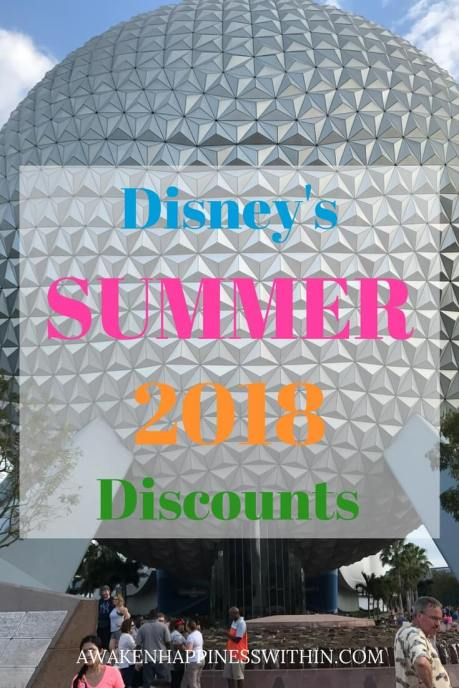 Disney Discount, Disney Summer 2018 Discounts, Disney, Disney World, Disney vacation, Disney vacation deals