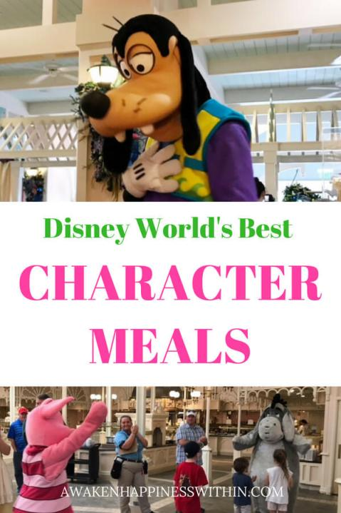 Learn all about Disney's best character dining options.