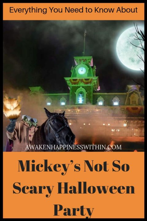 All you need to know about Mickey's Not So Scary Halloween Party