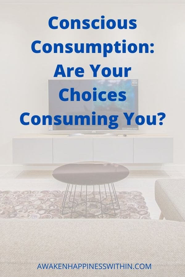 What do you consume daily? Conscious consumption