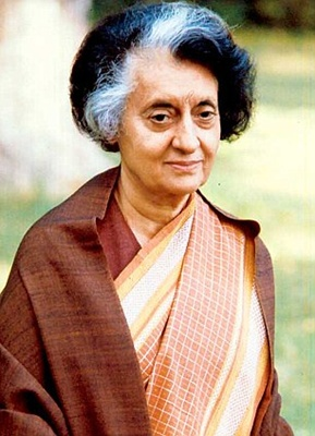 5 - Indira Gandhi