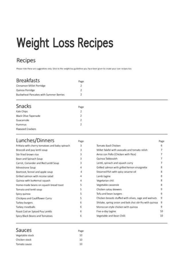 thumbnail of 30 Day Online Weight Loss Recipes