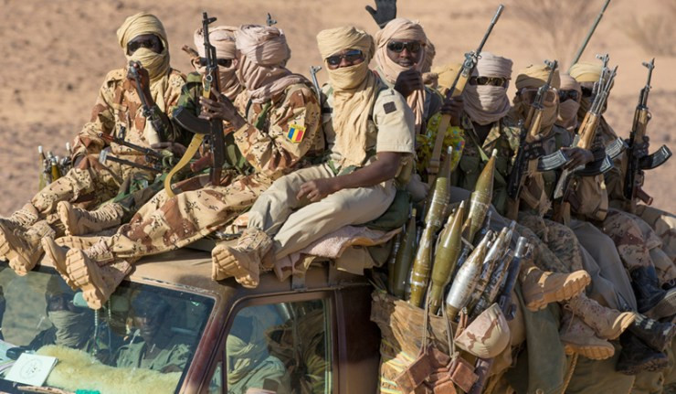 They sell arms when broke - Nigerian Navy indicts Chadian Army