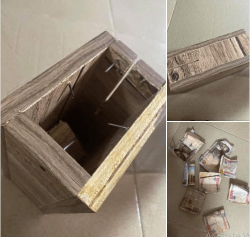 Lady narrates how money she was saving up in a piggy bank mysteriously disappeared