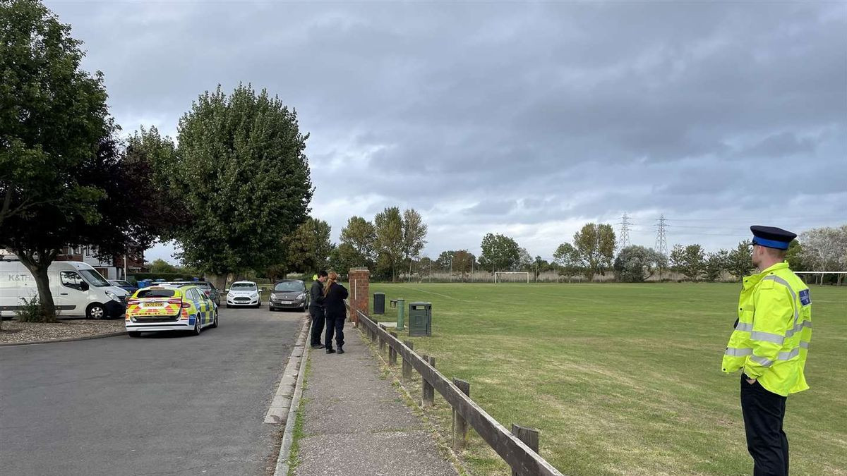 Schoolgirl raped on playing field right next to school and nursery